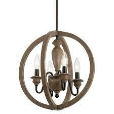 Kichler Beulah 4 light Pendant Chandelier Olde Bronze