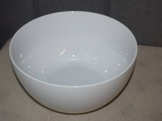 Fitz   Floyd Everyday White Deep Extra large Serving Bowl 10 3 4  diameter and 5 1 2  deep