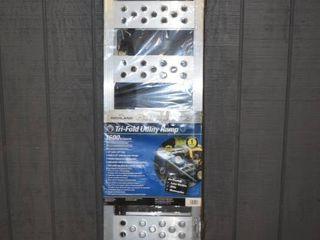 Ramparts Tri-Fold Aluminum Utility Ramp
