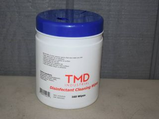 TMD Industrial Disinfectant Cleaning Wipes   160 Count