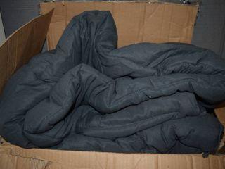 Easeland King Size Microfiber Comforter Duvet Gunmetal Gray