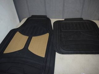 4 Piece Cut to Fit Floor Mat Set   All Weather