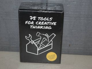 75 Tools for Creative Thinking Cards
