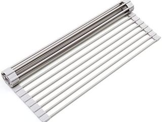 Surpahs Over the Sink Roll Up Dish Drying Rack