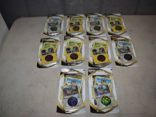 10 Packages Pokemon Cards