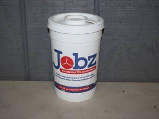 Jobz Alcohol Wipes 150 Count