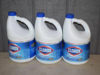 3 Gallons Clorox Bleach