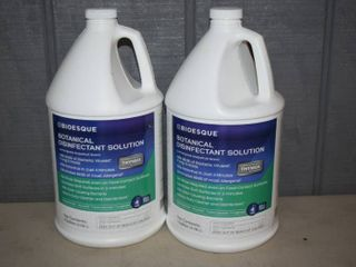2 Gallons Bioesque Botanical Disinfectant Solution