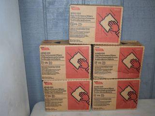 5 Boxes Tuff Job Series 500 Wipers