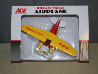 Diecast Metal Airplane lockheed Vega