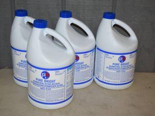 4 Gallons Pure Bright Bleach