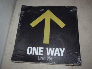 50 One Way Social Distancing Floor Decals 12  x 12