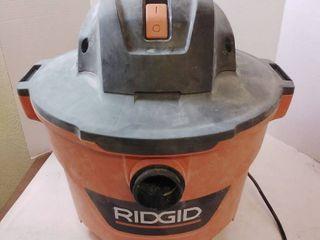 RIDGID 9 Gal  4 25 Peak HP NXT Wet Dry Shop Vacuum with Filter  Hose and Accessories  Oranges Peaches