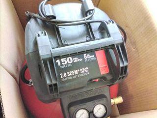 Porter Cable 6 Gal  150 PSI Portable Electric Air Compressor with 16 Gauge  18 Gauge and 23 Gauge Nailer Combo Kit  3 Tool