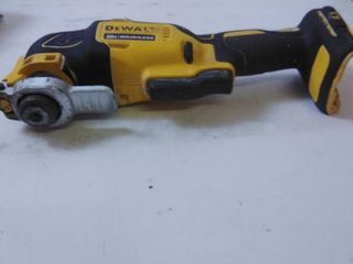 DEWAlT ATOMIC 20 Volt MAX lithium Ion Brushless Cordless Oscillating Tool  Tool Only