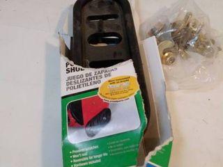 MTD Brands Snow Thrower Poly Slide Shoe Kit 490 241 0010