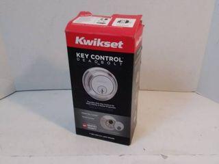 Key Control Dead Bolt