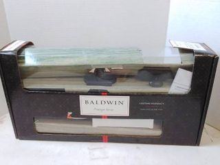 Baldwin Prestige Medina Single Cylinder Handleset with Madrina lever Featuring Smartkey Security