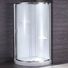 ovedecors 36 inch shower door only chrome