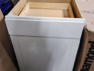 base lower kitchen cabinet white 36 tall 24 wide 24 deep