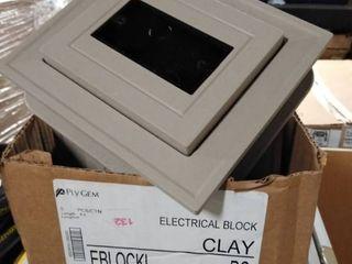 electric block clay 5 pc