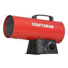 Craftsman Forced Air Propane 60000 btu Portable Forced Air Heater