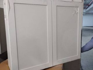 white kitchen cabinet upper 30 inch tall 36 inches long 12 inches deep
