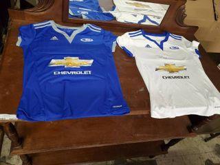 2 Adidas Soccer Jerseys