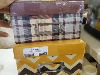 2 New Gift Boxes with lids