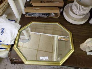 Octagon Shaped Mirror