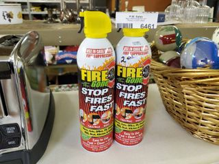 Two Cans of Fire Suppression