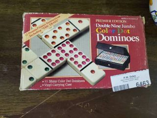 Color Dot Dominos