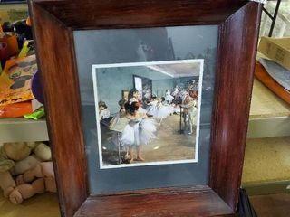 Framed Ballerina Print