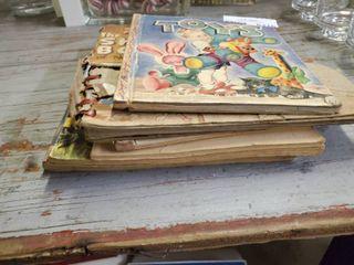 Stack of Vintage Children s Books