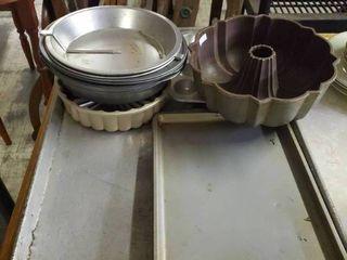 lot of Metal Bakeware