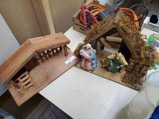 Two Nativity Scenes