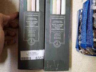 Two Boxes of Tiny Taper Candles