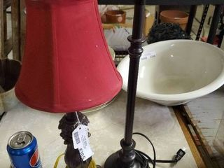 lot of 2 Table lamps