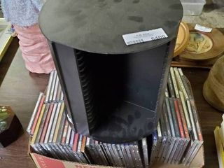 large lot of CD s and Organizer