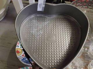 Heart Shaped Baking Pan