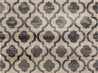 luxe Weavers Diana Collection Area Rug 1672 Grey  8  x 10