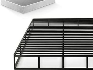 Zinus Victor 9 Inch Quick lock Box Spring   Mattress Foundation   Built to last Metal Structure   High Profile   Easy Assembly  Queen