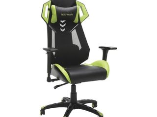RESPAWN 200 Racing Style Gaming Chair   Ergonomic Performance Mesh Back Chair  Office or Gaming Chair  RSP 200 GRN