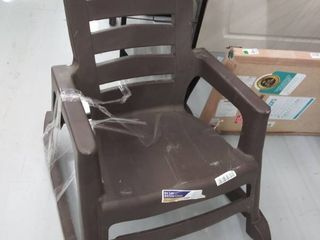 Big Easy Rocking Chair  Brown