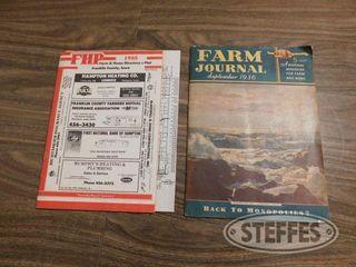 Farm Journal Magazine 1936 1 jpg