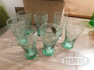 7 libbey Coke Glasses 1 jpg