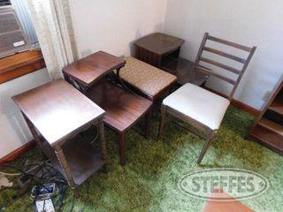 4 End Tables 1 Chair 1 jpg