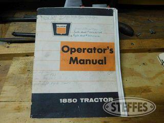 Operator Manual for Oliver 1850 1 jpg