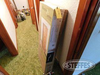 Monroe James Oak File Cabinet 1 jpg