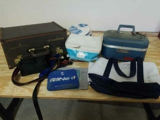 VARIOUS SMAll SUITCASES